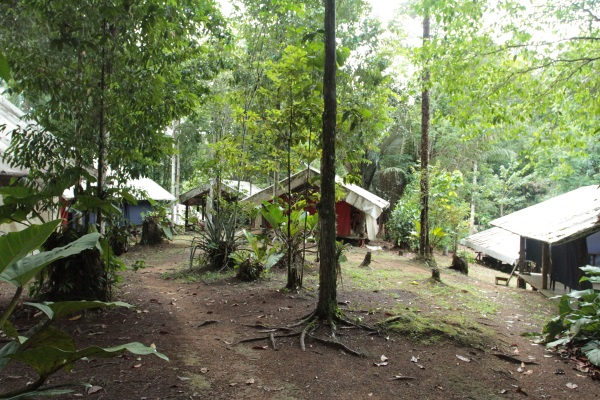 Camp Inselberg, carbets couchage